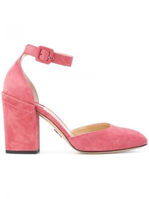 Туфли-лодочки Bastioni Paul Andrew. Цвет: розовый и фиолетовый