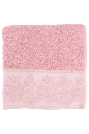 Полотенце махровое, 50х90 см BRIELLE. Цвет: роза