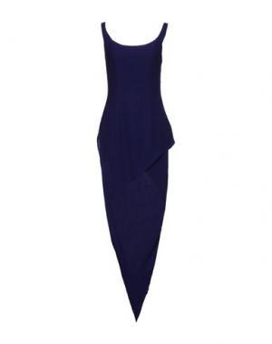 Короткое платье GAI MATTIOLO. Цвет: темно-фиолетовый