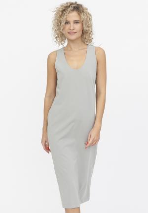 Платье TzeTze. Цвет: серый