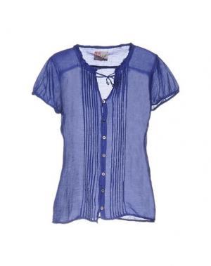 Pубашка 40WEFT. Цвет: синий