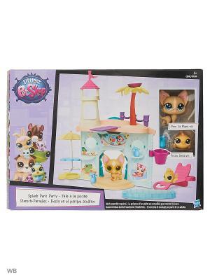 Набор дисплей для петов Littlest Pet Shop. Цвет: светло-голубой