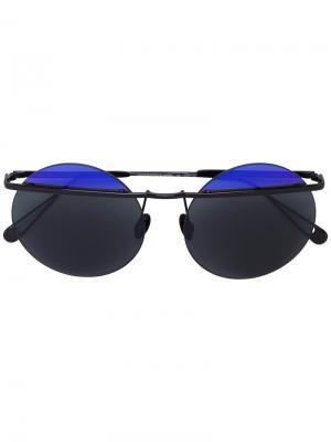 Круглые солнцезащитные очки Sunday Somewhere. Цвет: розовый и фиолетовый