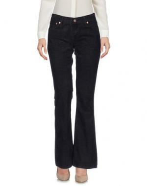 Повседневные брюки LEVI'S RED TAB. Цвет: темно-коричневый
