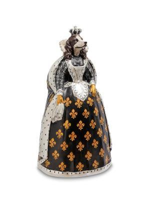 Статуэтка Собака Эмма Art East. Цвет: черный, бронзовый