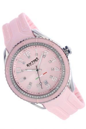 Наручные часы Extro. Цвет: розовый