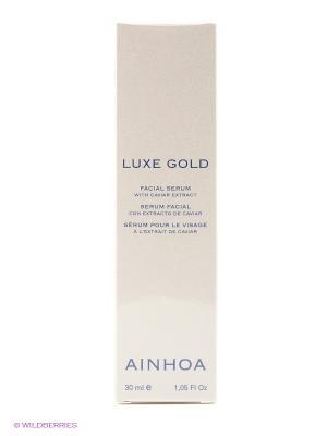 Питательная сыворотка LUXE GOLD AINHOA. Цвет: бежевый