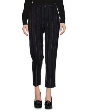 Повседневные брюки TRUE TRADITION. Цвет: темно-зеленый