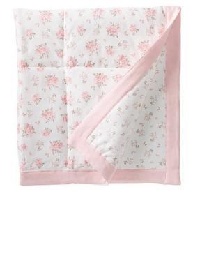 Одеяло Розовая реликвия Little Me. Цвет: розовый, белый