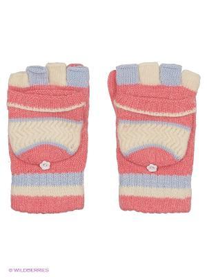 Перчатки Maxval. Цвет: лиловый, бежевый, красный