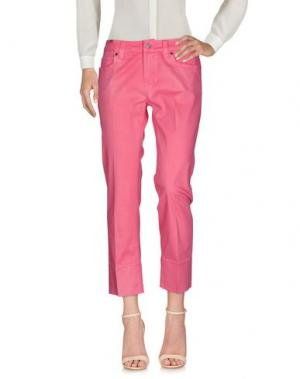 Повседневные брюки NOTIFY. Цвет: фуксия