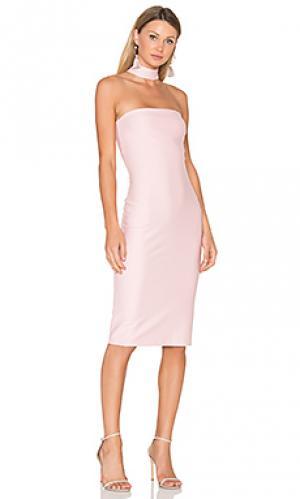 Платье kimora Amanda Uprichard. Цвет: розовый