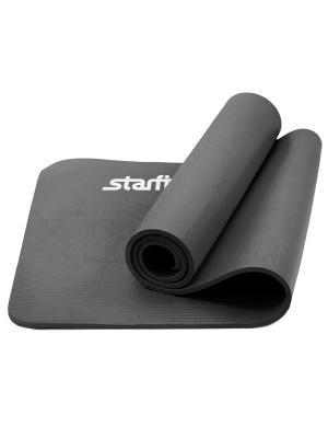 Коврик для йоги STARFIT FM-301 NBR 183x58x1,0 см, серый 1/6. Цвет: серый