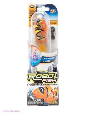 Тропическая робо-рыбка Бычок ZURU. Цвет: оранжевый