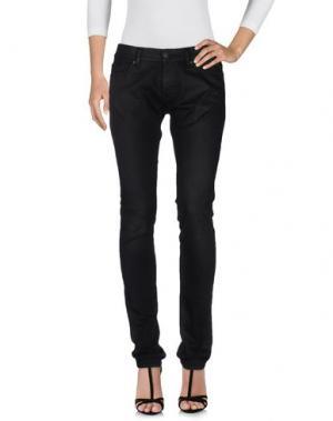 Джинсовые брюки VINTAGE 55. Цвет: черный