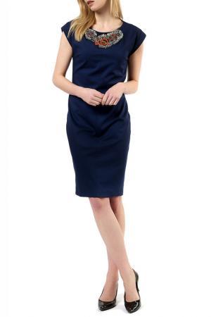 Платье Jones. Цвет: blue
