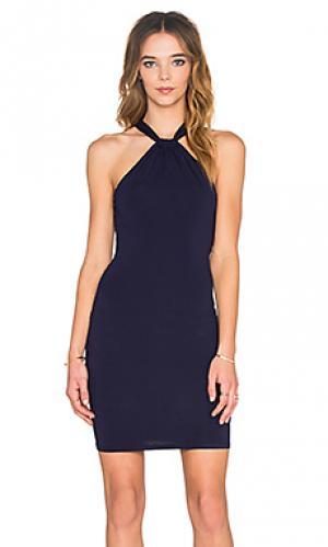 Мини платье twenty. Цвет: синий