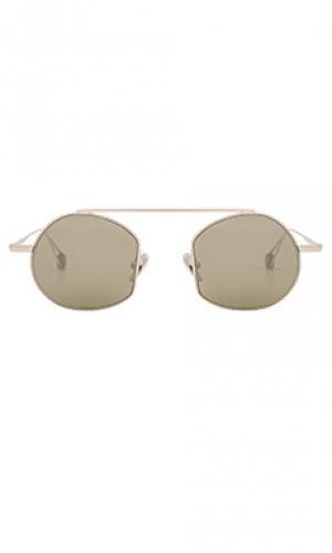 Солнцезащитные очки victoire Ahlem. Цвет: металлический серебряный