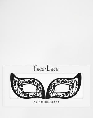 Facelace Украшения для глаз Face Lace Halloween Skelouette. Цвет: черный