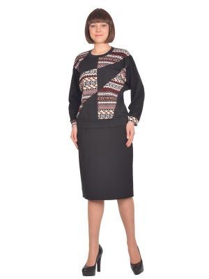 Кофточка Томилочка Мода ТМ. Цвет: черный, бежевый, красный