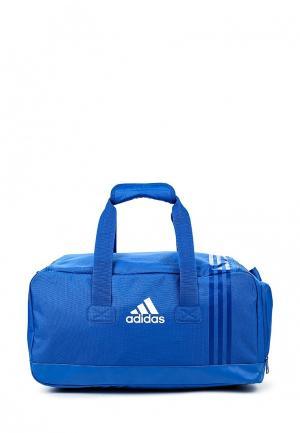 Сумка спортивная adidas Performance. Цвет: синий