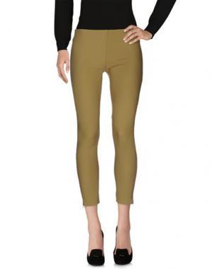 Повседневные брюки ANNARITA N.. Цвет: зеленый-милитари