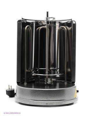 Электрошашлычница КТ-1404, 1400 Вт Kitfort. Цвет: серый