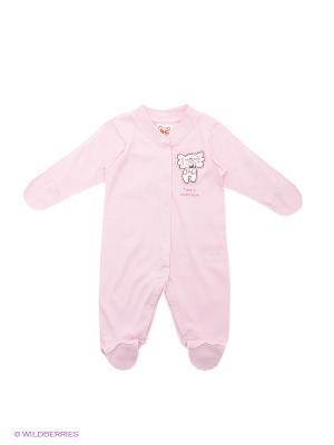 Комбинезон Baby Club. Цвет: розовый