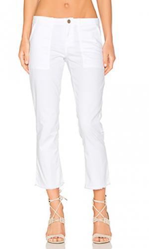 Укороченные брюки peace Sanctuary. Цвет: белый