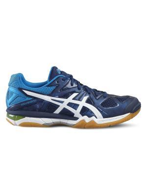 Спортивная обувь GEL-TACTIC ASICS. Цвет: синий, белый, желтый