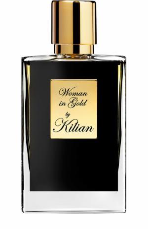 Парфюмерная вода Woman in Gold Kilian. Цвет: бесцветный