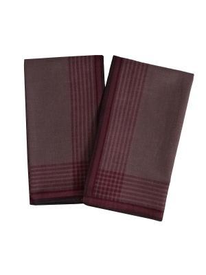 Платки носовые ZLATA KORUNKA. Цвет: бордовый, сиреневый