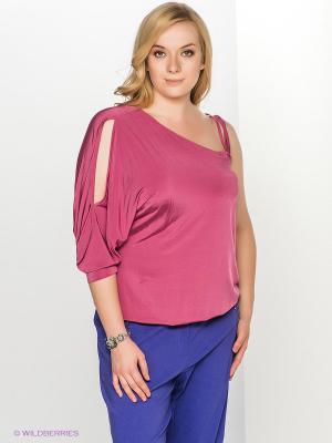 Блузка T&M. Цвет: малиновый