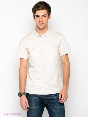Рубашка Formalab. Цвет: светло-бежевый