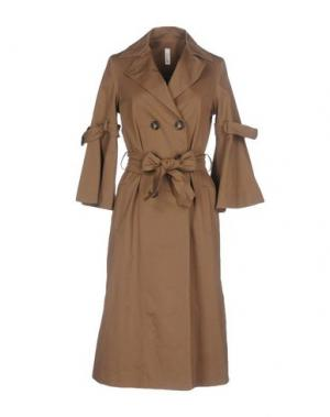 Легкое пальто SOUVENIR. Цвет: хаки