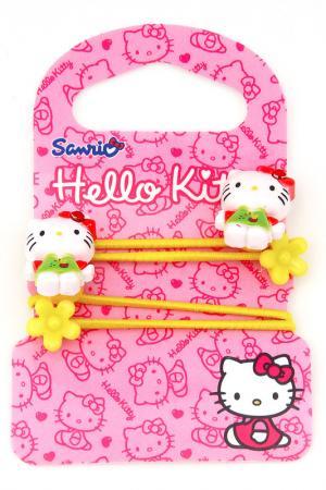 Резинка 2 шт. Hello Kitty. Цвет: желтый