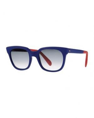 Солнечные очки SHERIFF & CHERRY. Цвет: синий