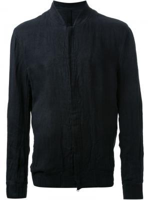 Куртка Zipped blouson Forme Dexpression D'expression. Цвет: чёрный
