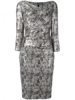 Платье Kora Talbot Runhof. Цвет: чёрный