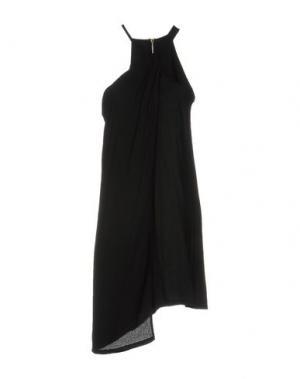 Платье до колена CLIÓ. Цвет: черный