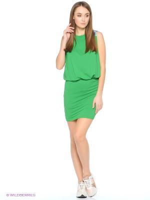 Платье Grishko. Цвет: зеленый