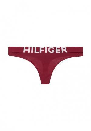 Трусы Tommy Hilfiger. Цвет: бордовый