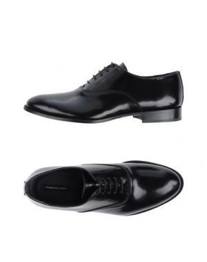 Обувь на шнурках ROBERTO PEPE. Цвет: черный