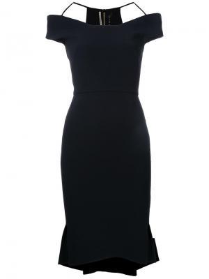 Платье Beatrix Roland Mouret. Цвет: чёрный