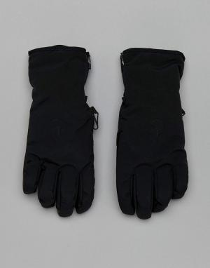 Peak Performance Черные перчатки Unite. Цвет: черный