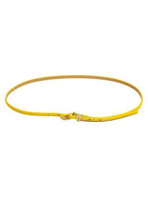 Ремень Kameo-bis. Цвет: желтый, бежевый, золотистый
