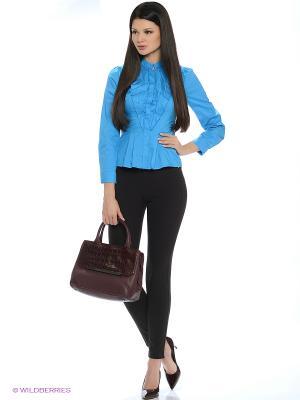 Блузка RUXARA. Цвет: бирюзовый
