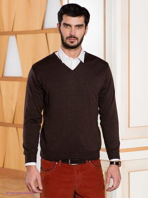Пуловер Baumler. Цвет: темно-коричневый