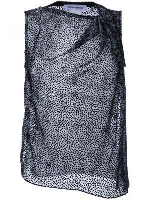 Houndstooth blouse Bianca Spender. Цвет: многоцветный