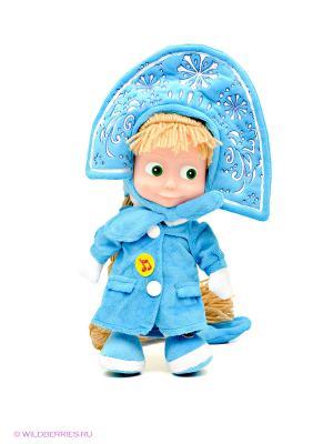 Маша-Снегурочка Мульти-пульти. Цвет: голубой